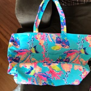 Lilly Beach Bag